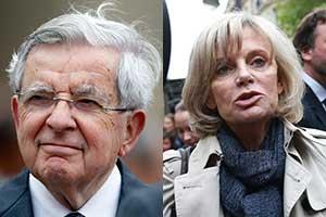 Jean-Pierre Chevènement et Élisabeth Guigou