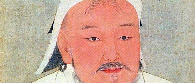 Portrait de Gengis Khan