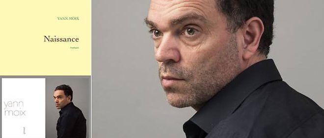 """Yann Moix publie """"Naissance"""" chez Grasset."""