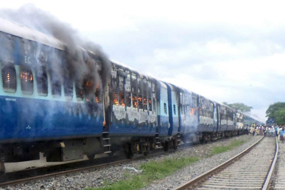 Accident ferroviaire en Inde