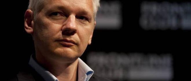 Julian Assange. © Warren Allott / AFP