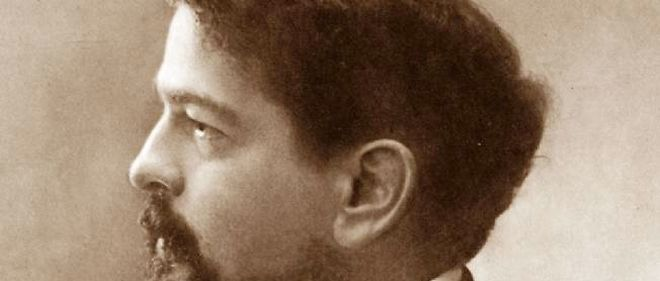 Photo portait de Claude Debussy, le père de l'impressionnisme musical.