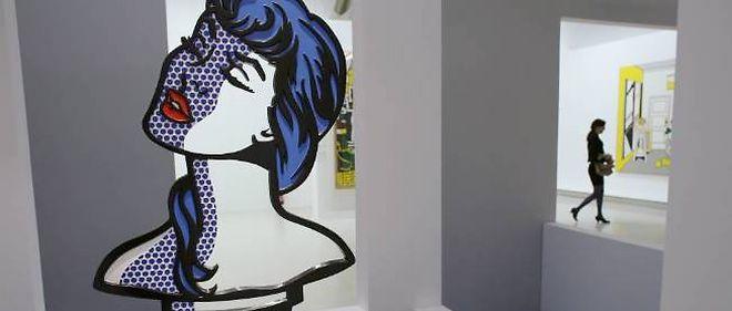 Exposition Lichtenstein au Centre Pompidou.