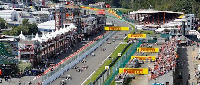 F1 Spa Le Plus Beau Trace De La Saison Automobile
