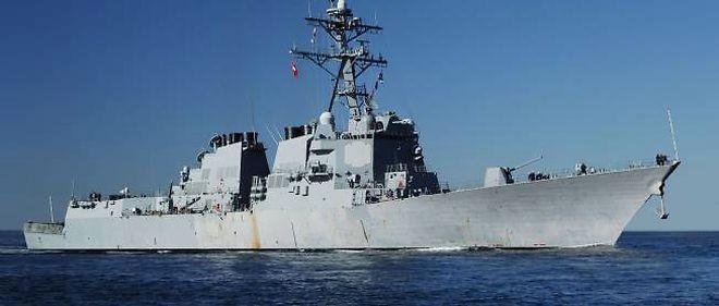 Un destroyer de l'US Navy.