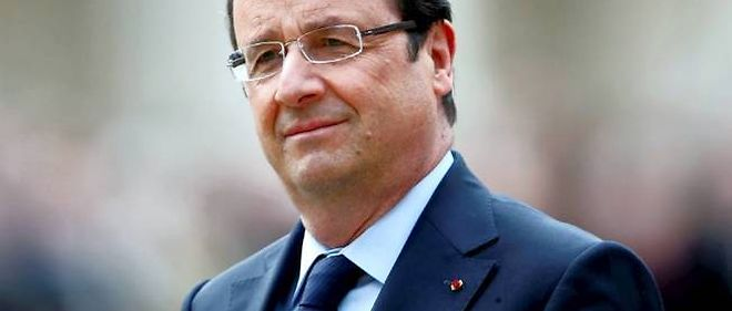 Le president de la Republique, Francois Hollande.