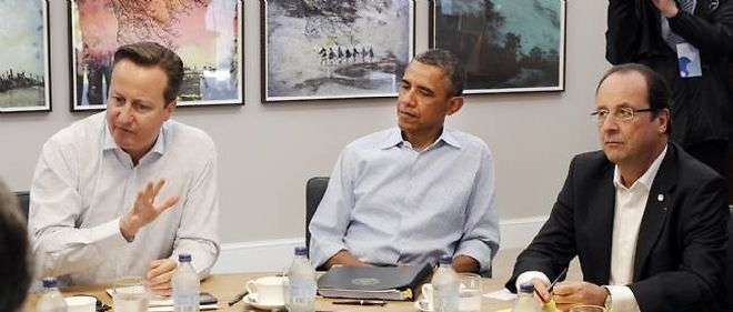 David Cameron, Barack Obama et François Hollande se sont déclarés pour une intervention en Syrie.