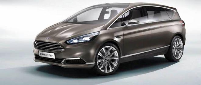 Comme en témoigne ce S-Max Concept qui préfigure un futur modèle de la marque, Ford continue à croire aux grands monospaces.