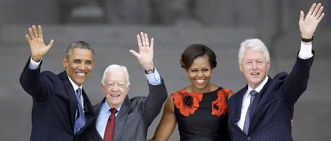 Le président des États-Unis Barack Obama a salué mercredi l'héritage de Martin Luther King.