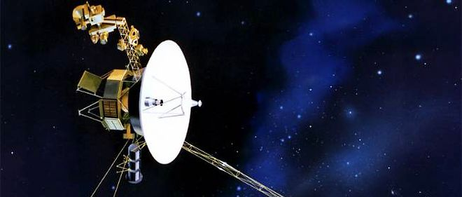 La sonde Voyager 1.