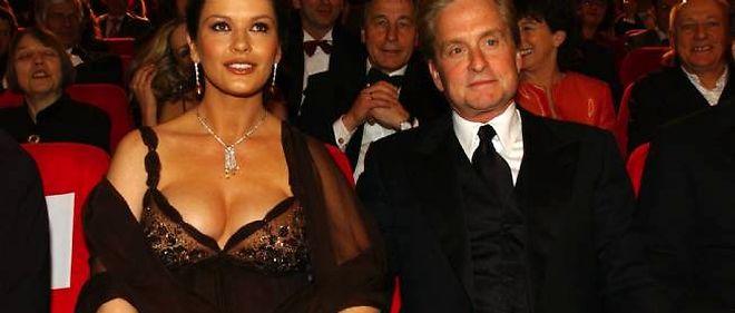 Catherine Zeta-Jones et Michael Douglas, en 2003.