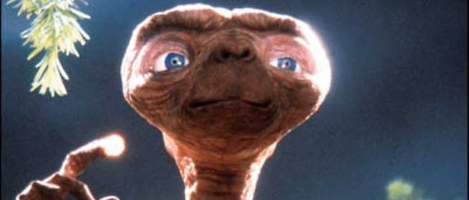 ET, l'extraterrestre de Steven Spielberg.