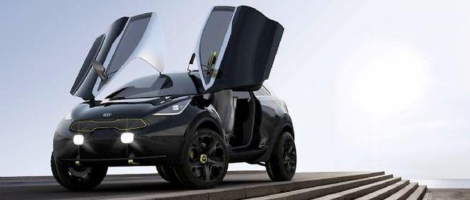 Le Nero remplacera à coup sûr un jour la Kia Rio lorsqu'on l'aura débarrassée de ses portes en élytres et de ses grosses roues de concept-car.