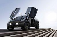 Le Nero remplacera à coup sûr un jour la Kia Rio lorsqu'on l'aura débarrassé de ses portes en elytres et de ses grosses roues de concept-car.