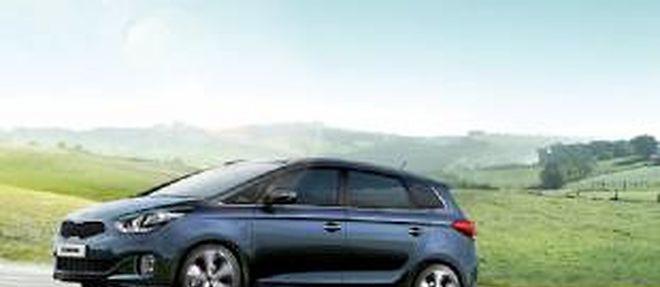 Avec les sept ans d'entretien gratuit inclus dans l'achat d'une Carens, Kia espère relancer les ventes.
