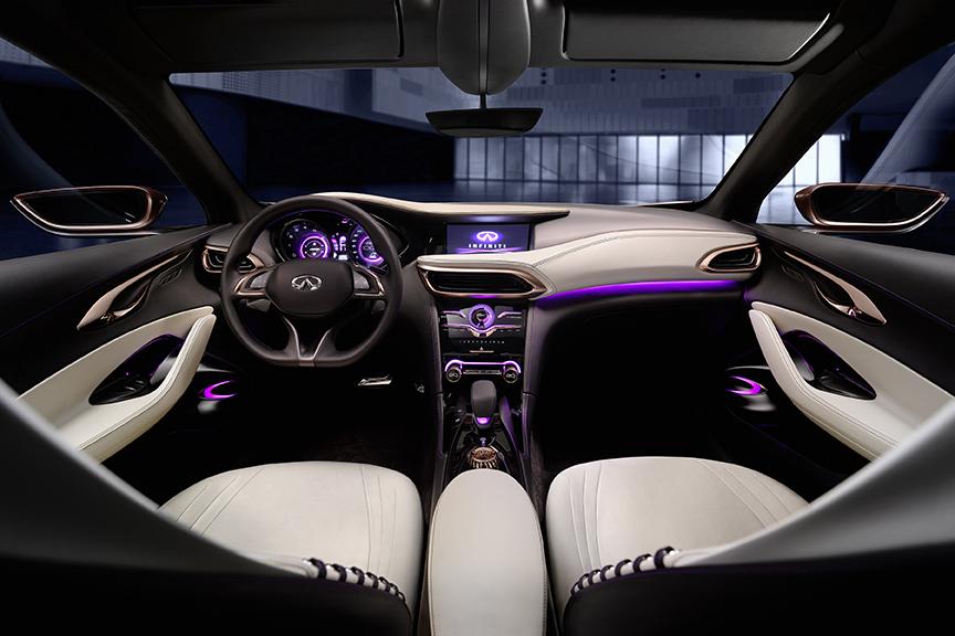 Le design veut déployer une très forte personnalité pour mieux se distinguer dans le monde du luxe