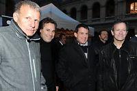 PPDA, Benjamin Patou, Manuel Valls et Francis Huster aux Invalides pour une session de