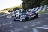 En attendant de connaître le temps de la McLaren P1, la Porsche 918 Spyder devient la voiture de route la plus rapide sur la boucle nord du Nürburgring.