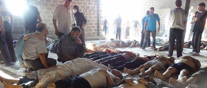 Un attaque chimique aux alentours de Damas a fait entre 300 et 1 000 morts le 21 août.
