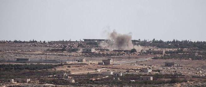 Des combats dans le nord de la Syrie.
