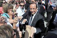 François Hollande, cap sur 2017 ? (Ici à La Roche-sur-Yon, le 6 août 2013.)