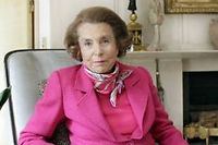 Liliane Bettencourt. ©Sipa