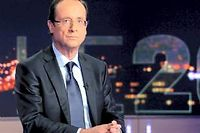 François Hollande ne compte plus que 23 % d'opinions positives. ©Jacques Brinon/AFP