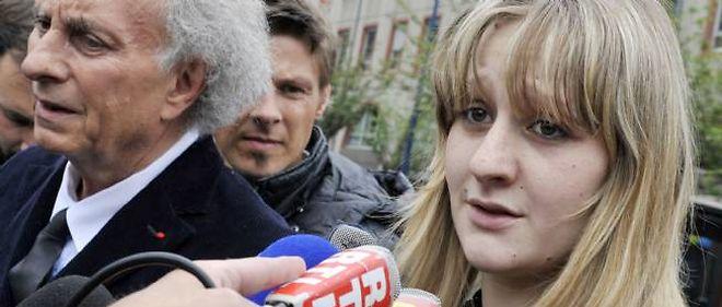 Cécile Bourgeon, le 16 mai 2013 à Clermont-Ferrand.