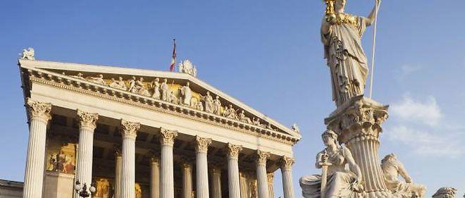 Le Parlement autrichien à Vienne.