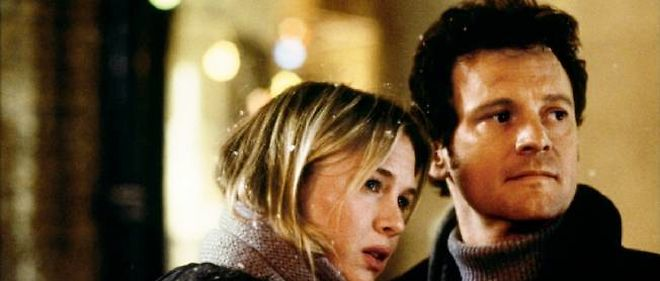 Renee Zellweger et Colin Firth ont incarne Bridget Jones et Mark Darcy a l'ecran.