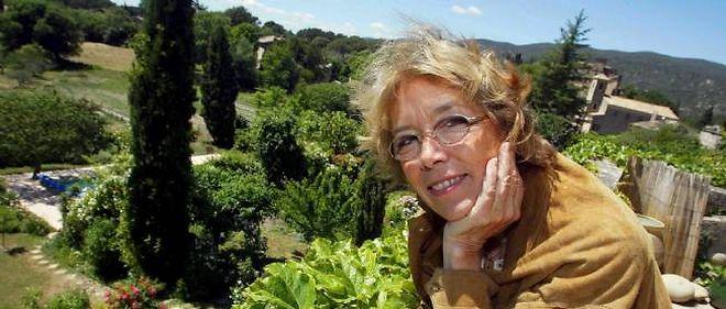Catherine Camus, fille d'Albert Camus, ici en 2009 dans sa maison de famille à Lourmarin.