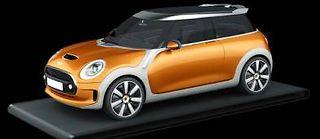 Le concept Mini Vision préfigure la Mini MK3 qui sera présentée le 18 novembre prochain au salon de Los Angeles.