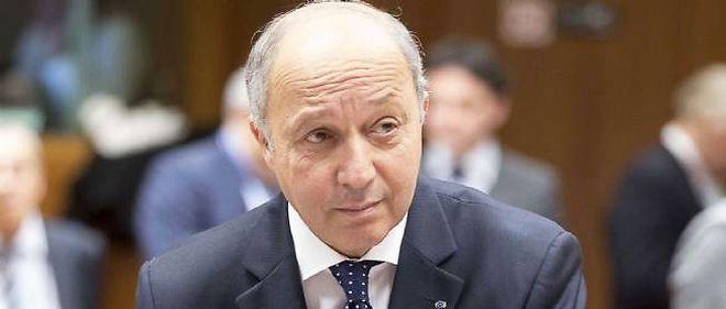 Laurent Fabius, ministre des Affaires étrangères. © Thierry Monasse / Sipa Press