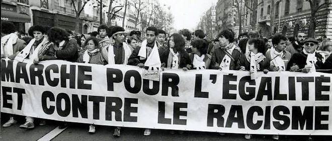 """Les 30 ans de la Marche pour l'égalité, dite """"Marche des beurs"""", donnent lieu à une avalanche commémorative."""