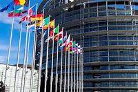 Le parlement européen à Strasbourg. ©Sipa