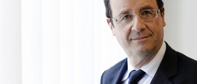 Francois Hollande, president de la Republique