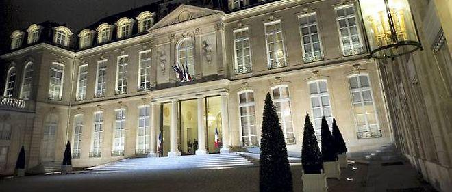 Le palais de l'Élysée, à Paris. Photo d'illustration.