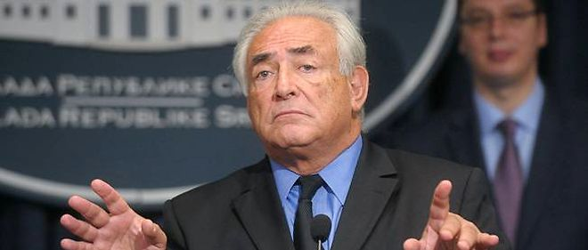 Dominique Strauss-Kahn en septembre dernier lors d'une conference en Serbie (photo d'illustration).