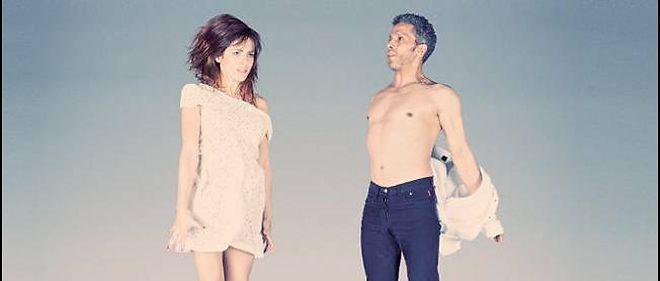 """Audrey Dana et Sami Bouajila sur l'affiche de """"Ring""""."""