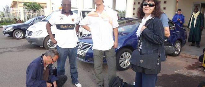 Ghislaine Dupont et Claude Verlon, ici au Mali en juillet dernier.