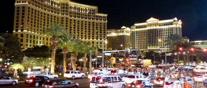 Le Bellagio, à Las Vegas.