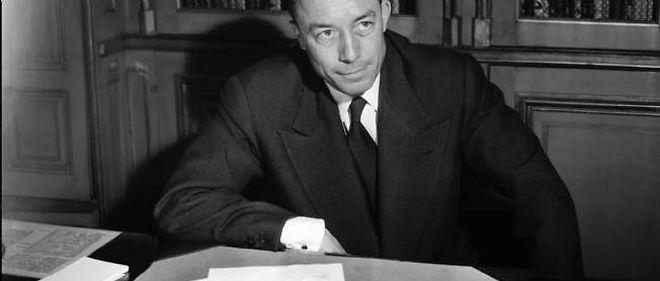 Albert Camus, ici en 1957.