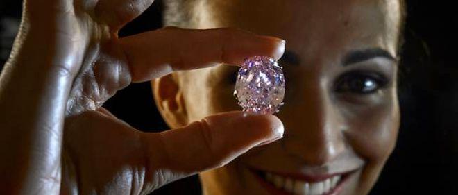 Le Diamant Le Plus Cher Du Monde Le Point