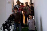 La famille Dibrani à Mitrovica. ©Visar Kryeziu/AP/Sipa