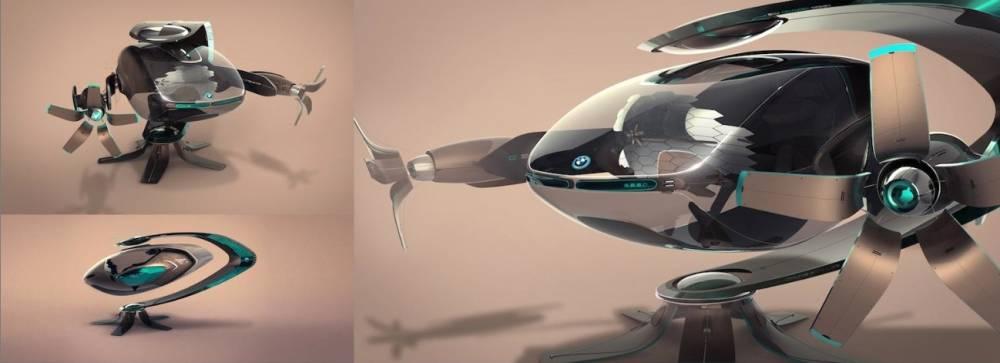 BMW s'est laché avec ce prjet très futuriste qui, assurément, ne pourra jamais sortir en 2025