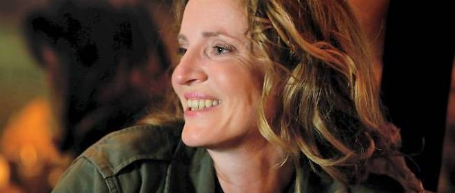 Nathalie Kosciusko-Morizet à la Nuit blanche à Paris.