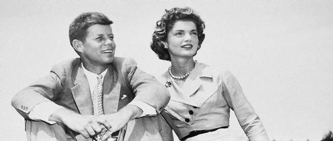 JFK et Jackie, Massachusetts, USA le 27 juin 1963.
