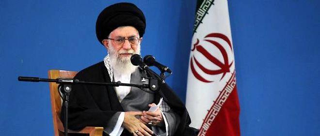 L'ayatollah Khamenei.
