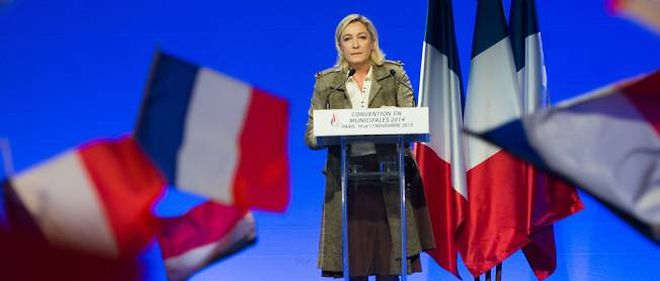 Marine Le Pen, convention du Front national, 17 novembre 2013.
