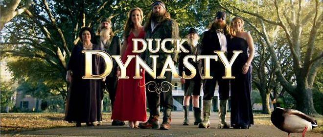 """Le générique de la série """"Duck Dynasty"""", la télé-réalité américaine qui bat des records d'audience."""